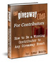 Thumbnail The Giveaway Code plr