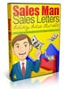 Sales Man Sales Letters - eBook and Video Series plr