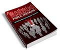 Thumbnail Mastering Public Speaking (PLR)