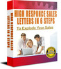 Thumbnail High Response Sales Letters in 6 Easy Steps (PLR)