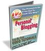Thumbnail Personal Blogging - Video Series plr