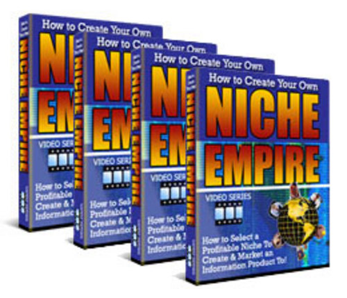 Product picture How to Create Your Own Niche Empire - Video Series plr