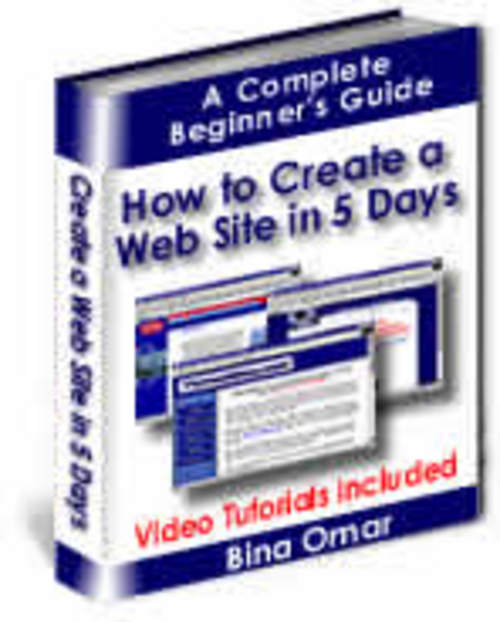 Product picture How To Create A Website in 5 Days plr