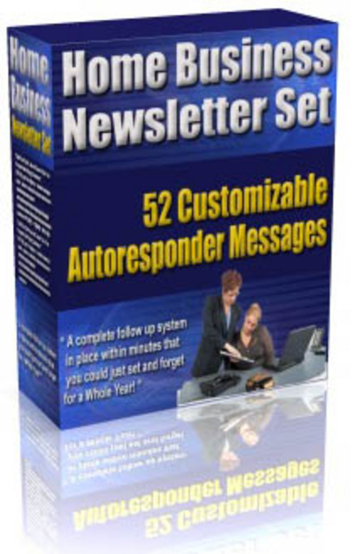 Product picture Home Business Newsletter Set plr