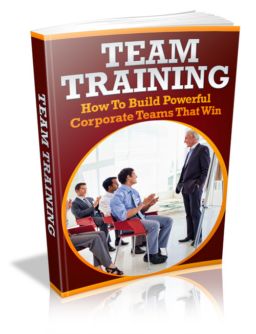 Product picture Team Training plr