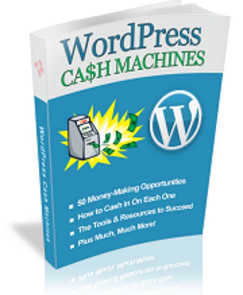 Product picture Wordpress Cash Machines plr