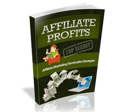 Product picture Top Secret Affiliate Profits (PLR)
