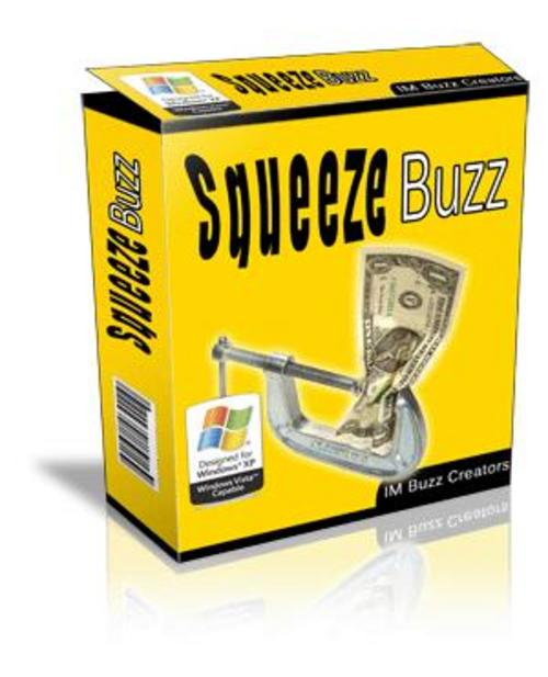 Product picture Squeeze Buzz plr