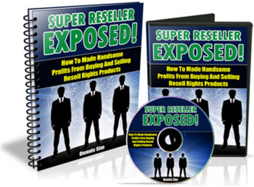Product picture Super Reseller Exposed - Audio Book plr
