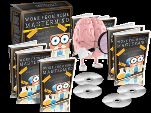 Product picture Work From Home Mastermind - eBook and Videos plr