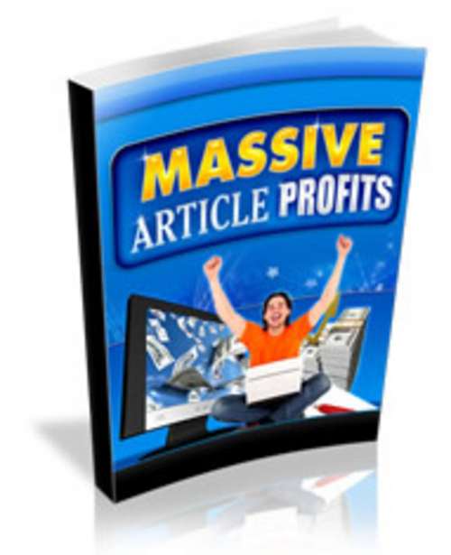 Product picture Massive Article Profits - Videos and eBook plr