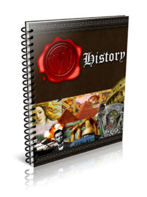 Product picture Wordpress History Plugin plr