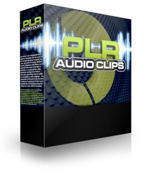 Product picture PLR Audio Clips (PLR)