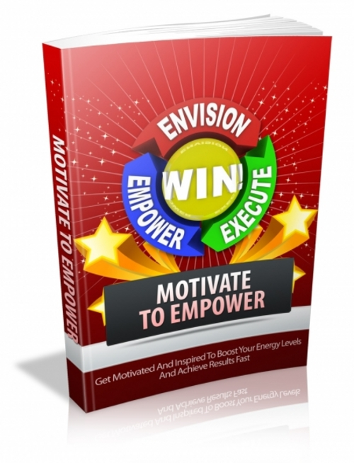 Product picture Motivate to Empower plr