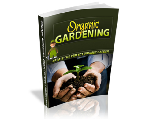 Product picture Organic Gardening Guide (PLR)