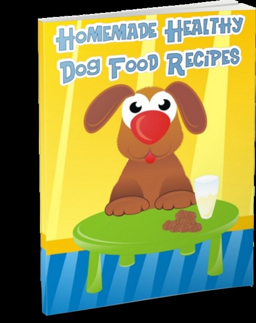 Product picture Healthy Homemade Dog Food Recipes (PLR)