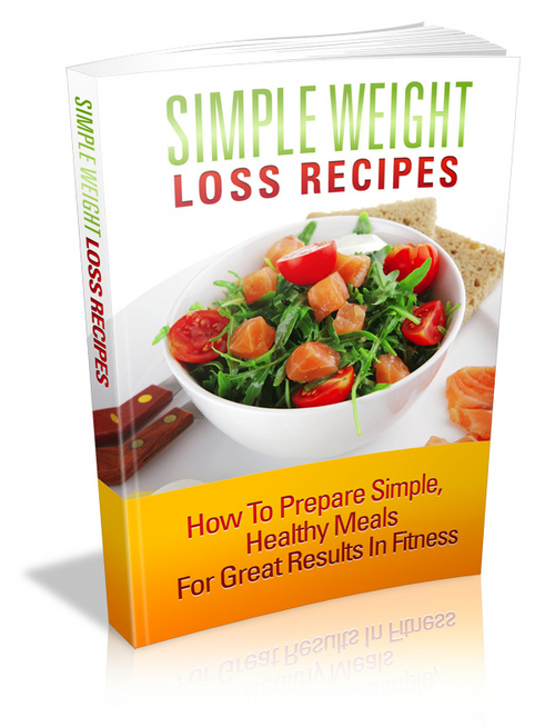 Product picture Simple Weight Loss Recipes plr