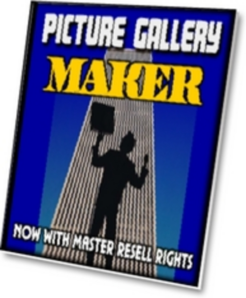 Product picture Picture Gallery Maker PLR