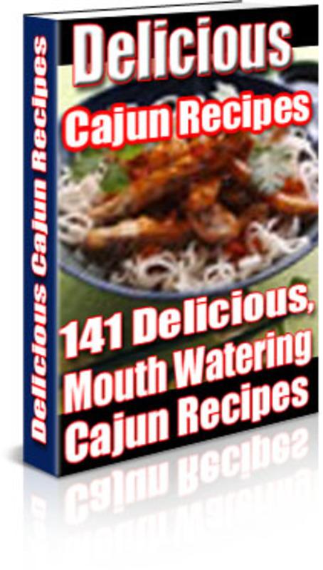 Product picture Cajun Recipes