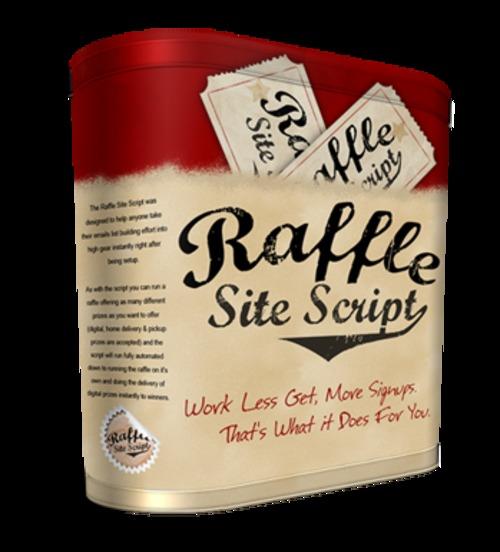 Product picture Raffle Site Script (PLR)